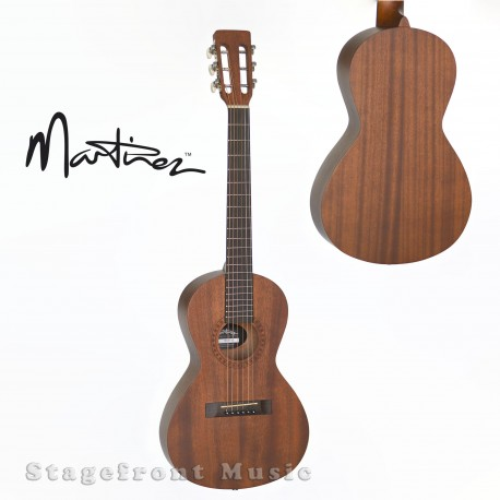 MARTINEZ STEEL STRING SMALL BODY FOLK ACOUSTIC GUITAR PACK NATURAL GLOSS