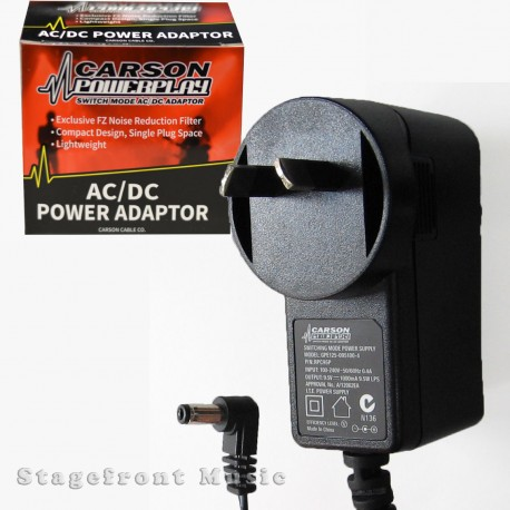POWER ADAPTOR - CASIO 9.5V SWITCH MODE AC/DC POWER ADAPTOR/ SUPPLY