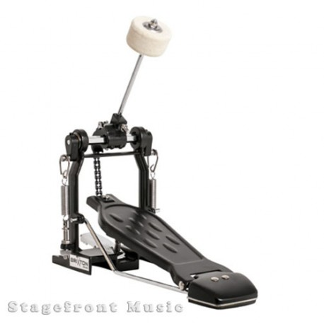 DXP BASS DRUM PEDAL 200 SERIES BLACK CAST PEDAL FRAME TENSION ADJUSTMENT DXPBP2