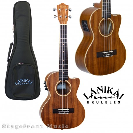 LANIKAI ACCET ACACIA SERIES TENOR UKULELE ACOUSTIC /ELECTRIC WITH KULA PREAMP