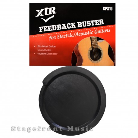 GUITAR FEEDBACK BUSTER SOUNDHOLE COVER FOR ACOUSTIC DREADNOUGHT FBR2 100MM