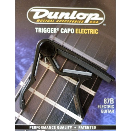 JIM DUNLOP NICKEL ACOUSTIC TRIGGER CAPO - J83CD