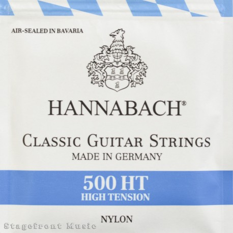 HANNABACH 500 MT CLASSICAL GUITAR STRINGS MEDIUM TENSION