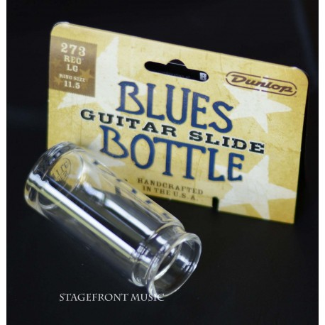 JIM DUNLOP J273 BLUES MEDICINE BOTTLE GLASS GUITAR SLIDE.