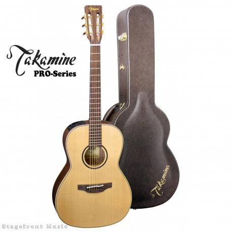 "TAKAMINE P3NY ""NEW YORKER"" PRO-SERIES GUITAR WITH HARD CASE"