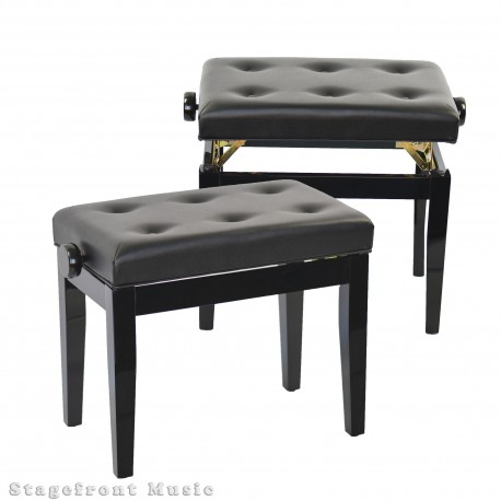 XTREME KEYBOARD STOOL / BENCH. PROFESSIONAL HEAVY DUTY SEAT. 3 HEIGHTS - KT146