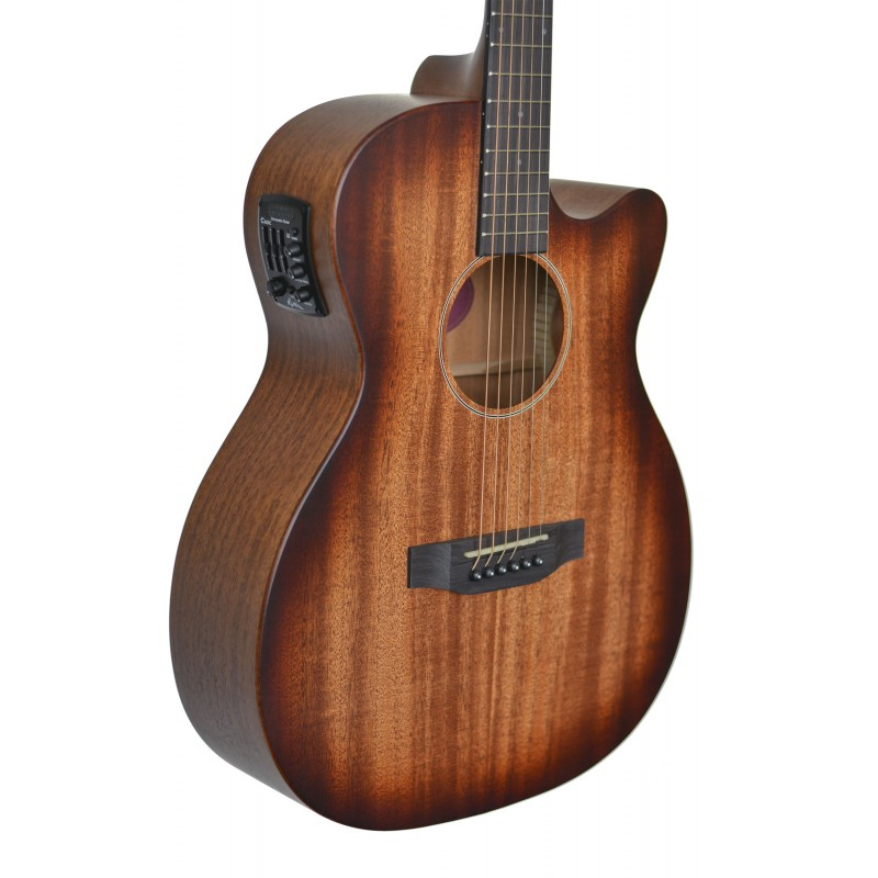 martinez southern star series mahogany acoustic electric small body guitar. Black Bedroom Furniture Sets. Home Design Ideas