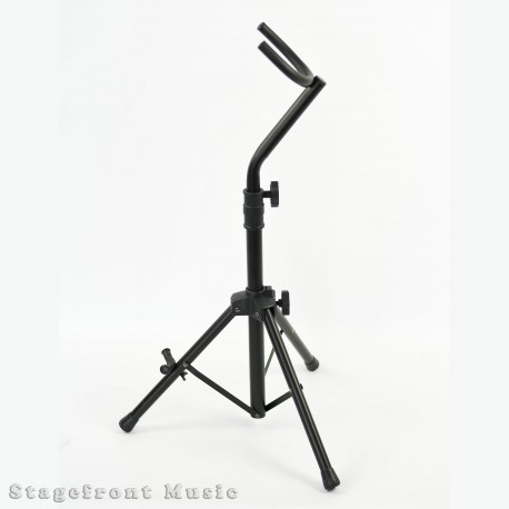 TRUMPET STAND HEAVY DUTY STEEL CONSTRUCTION HEIGHT ADJUSTABLE