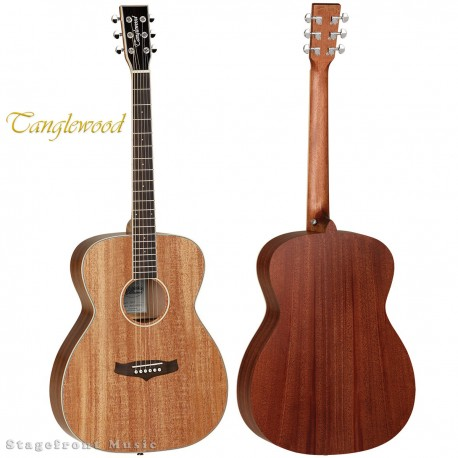 TANGLEWOOD NASHVILLE V FOLK ACOUSTIC/ELECTRIC GUITAR WITH CUTAWAY – TN5DCE