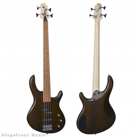 CORT 700WS ACTION 4 STRING ELECTRIC BASS GUITAR - WALNUT SATIN