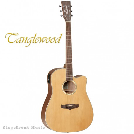 TANGLEWOOD WINTERLEAF DREADNOUGHT ACOUSTIC /ELECTRIC GUITAR - TW10