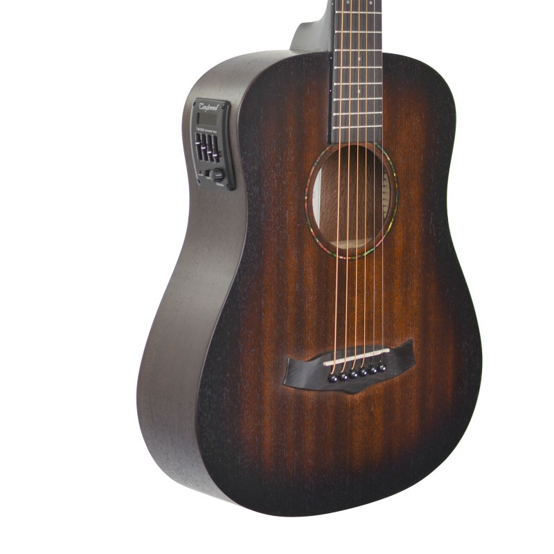 tanglewood twcrte crossroads travel small body guitar with pickup. Black Bedroom Furniture Sets. Home Design Ideas