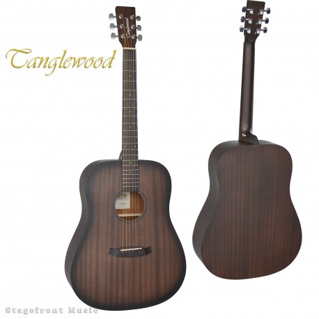 TANGLEWOOD TWCRDE CROSSROADS DREADNOUGHT GUITAR WITH PICKUP