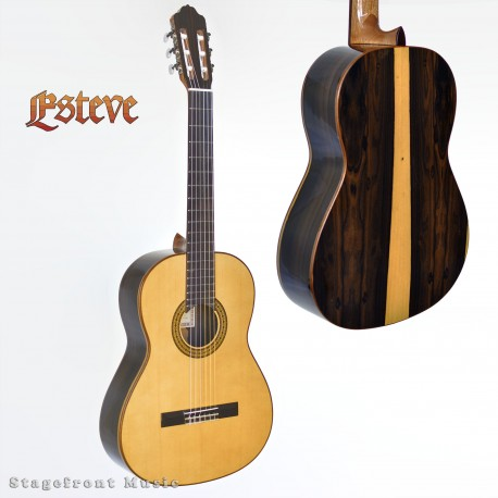 ESTEVE MODEL 3Z SOLID TOP CLASSICAL GUITAR MADE IN SPAIN ZIRICOTE BACK & SIDES