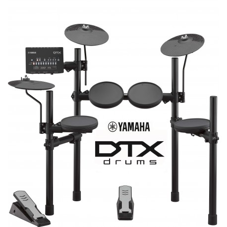 YAMAHA DTX402K ELECTRONIC DRUM KIT $745