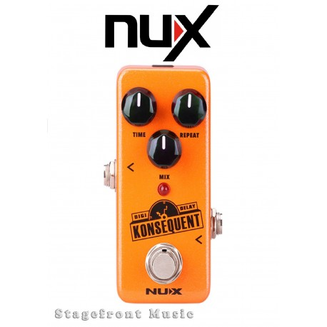 NUX MINI CORE SERIES KONSEQUENT DIGITAL DELAY MINI EFFECTS PEDAL