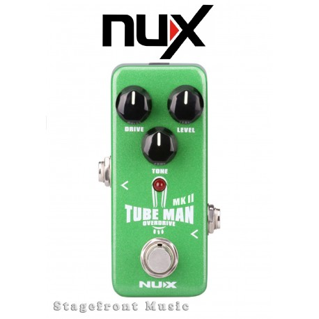 NUX MINI CORE SERIES TUBE MAN MK11 OVERDRIVE MINI EFFECTS PEDAL