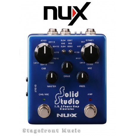 NUX VERDUGO SERIES SOLID STUDIO IR & POWER AMP SIMULATOR WORLD CLASS