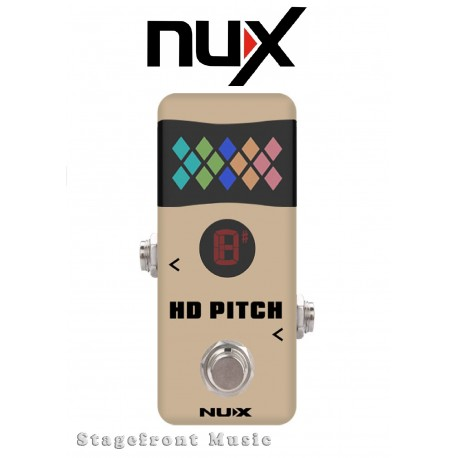 NUX MINI CORE SERIES HD PITCH MINI TUNER PEDAL ULTRA FAST RESPONSE & PRECISION