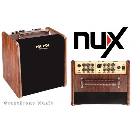 NUX AC50 STAGEMAN 2 CHANNEL 50W ACOUSTIC GUITAR AMPLIFIER WITH DIGITAL FX