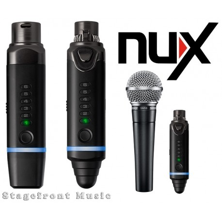 NUX B3 SNAP-ON MICROPHONE WIRELESS SYSTEM