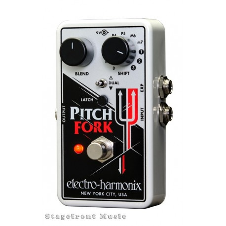 ELECTRO-HARMONIX EHX PITCH FORK POLYPHONIC PITCH SHIFTER EFFECTS PEDAL
