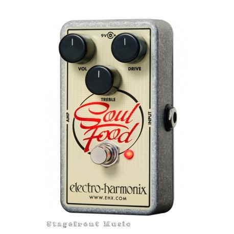 ELECTRO-HARMONIX EHX SOUL FOOD DISTORTION FUZZ OVERDRIVE EFFECTS PEDAL
