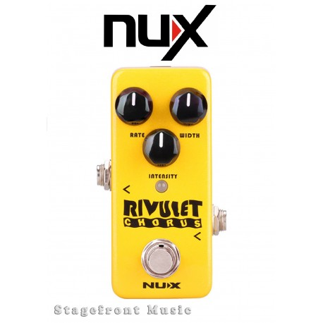 NUX MINI CORE SERIES RIVULET CHORUS EFFECTS PEDAL MINI EFFECTS PEDAL
