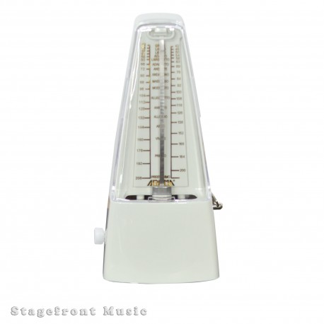 AROMA MECHANICAL PYRAMID STYLE METRONOME BLACK