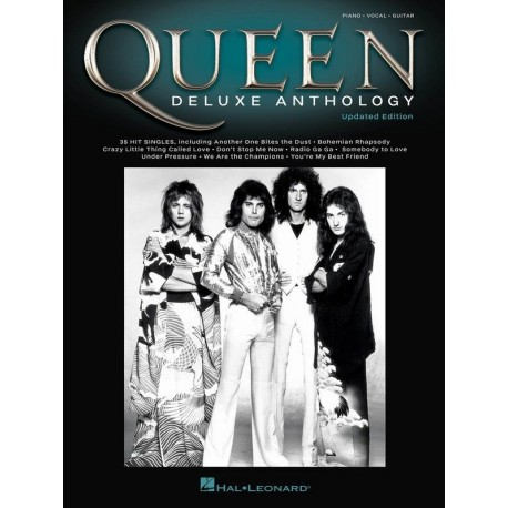 QUEEN DELUXE ANTHOLOGY SHEET MUSIC PVG BOOK PIANO VOCAL GUITAR *UPDATED EDITION*