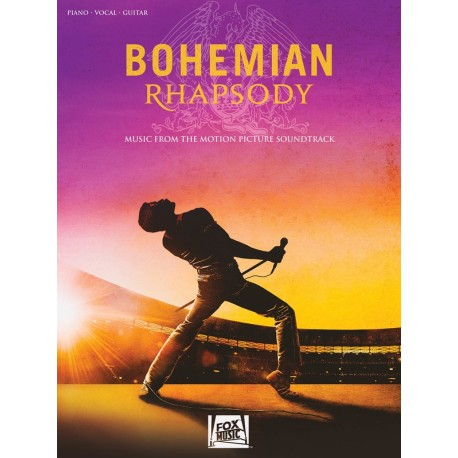 QUEEN BOHEMIAN RHAPSODY SHEET MUSIC PVG SONG BOOK PIANO VOCAL GUITAR