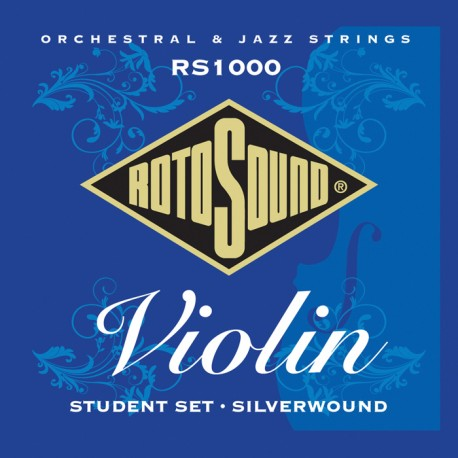 ROTOSOUND RS1000 VIOLIN STUDENT SILVERWOUND STRING SET 4/4