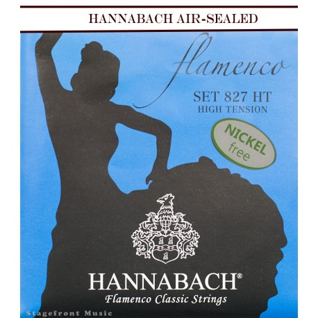 HANNABACH CLASSICAL SET-FLAMENCO E827 BLUE HIGH TENSION