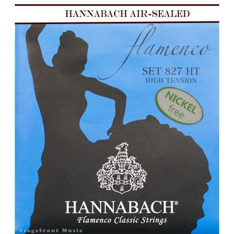 HANNABACH CLASSICAL SET-FLAMENCO E827 BLUE HIGH TENSION