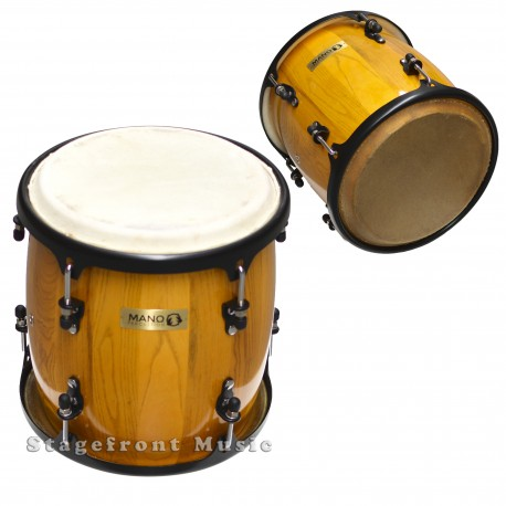 "MANO PERCUSSION 11"" TAMBORA DRUM NATURAL FINISH WOOD SHELL MP1114NA"