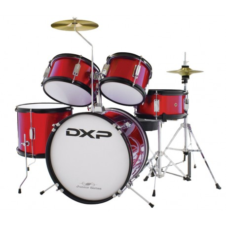 JUNIOR DRUMKIT TXJ5WR DXP 5 PIECE 3/4 DRUM KIT- WINE RED