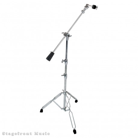 CYMBAL STAND WITH BOOM ARM PRO HEAVY DUTY DOUBLE BRACED LEGS WEIGHTED BOOM ARM DXPCB3W