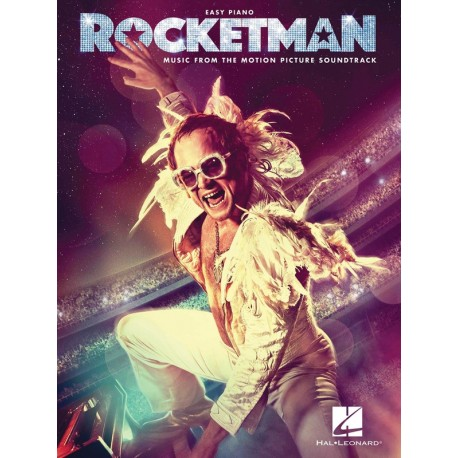 ROCKETMAN EASY PIANO ELTON JOHN SHEET MUSIC FROM MOVIE SOUNDTRACK