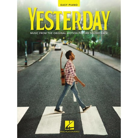 YESTERDAY EASY PIANO THE BEATLES SHEET MUSIC FROM MOVIE SOUNDTRACK