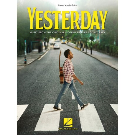 YESTERDAY PVG THE BEATLES SHEET MUSIC FROM MOVIE SOUNDTRACK PIANO VOCAL GUITAR
