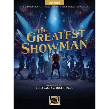THE GREATEST SHOWMAN SHEET MUSIC BOOK FOR EASY PIANO & VOCAL