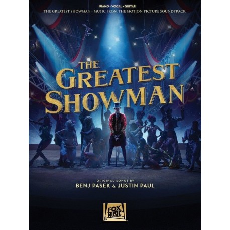 THE GREATEST SHOWMAN SHEET MUSIC PVG BOOK FOR PIANO VOCAL GUITAR