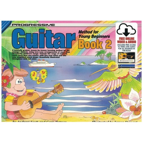 PROGRESSIVE GUITAR METHOD FOR YOUNG BEGINNERS BOOK 1 with CD/DVD