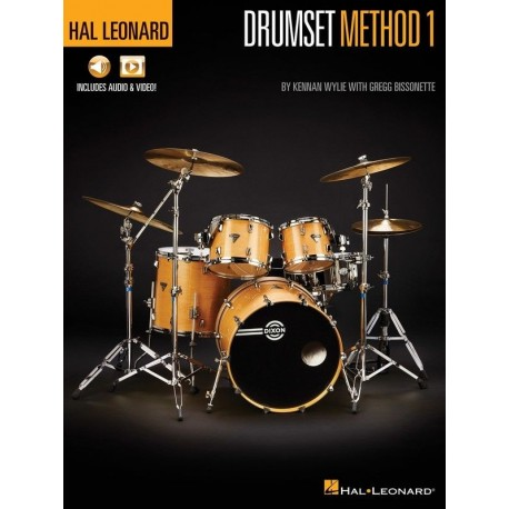HAL LEONARD DRUMSET METHOD BOOK 1 LEARN HOW TO PLAY DRUMS ONLINE AUDIO & VIDEO