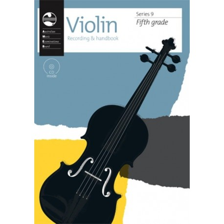 AMEB VIOLIN SERIES 9 RECORDING & HANDBOOK - FIFTH GRADE 5