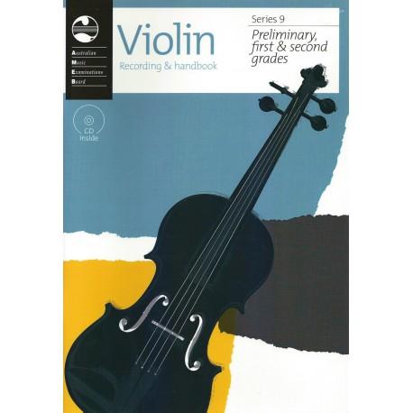 AMEB VIOLIN SERIES 9 RECORDING & HANDBOOK - PRELIMINARY & GRADES 1 & 2