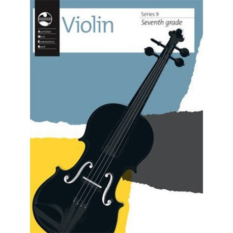 AMEB VIOLIN SERIES 9 RECORDING & HANDBOOK - SEVENTH GRADE 7