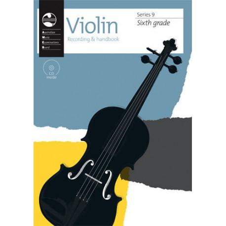 AMEB VIOLIN SERIES 9 RECORDING & HANDBOOK - SIXTH GRADE 6
