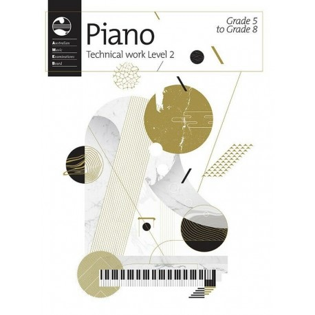 AMEB PIANO TECHNICAL WORK LEVEL 2 2018 GRADE 5 6 7 8