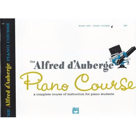 ALFRED D'AUBERGE PIANO COURSE LESSON BOOK 1